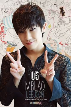 MBLAQ Lee Joon - Born in South Korea in 1988. He is a past member of the group. #Fashion #Kpop