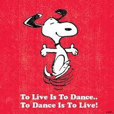 Risultati immagini per to live is to dance