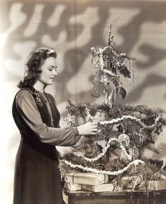 Vintage Christmas Donna Reed