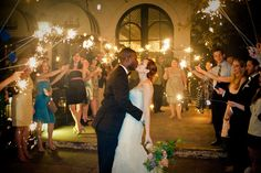 Audrey and Hasa - The sparklers were the perfect ending to a magical evening! And so romantic! - Dylan Wilson Photography