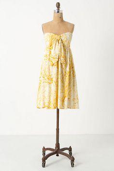 Tied Spicifera Dress #anthropologie