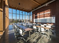 Image 18 of 24 from gallery of PACCAR Environmental Technology Building / LMN Architects. Photograph by Ed LaCasse High Quality Furniture, Higher Education, Square Feet, Environment, Technology, Interior Design, Building, Architects, Interiors