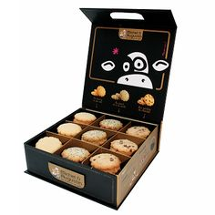 Michel & Augustin La Boite Butter Shortbread Cookies. So cute. PD