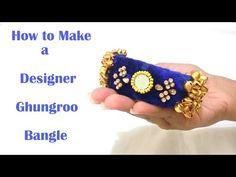How to make Beaded Saree Border   Saree Tassels   Saree Edging at Home   Tutorial - YouTube