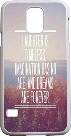 Hungo Samsung Galaxy S5 Case Bible Verse, S5 Case Christian Quotes Laughter is timeless imagination has no age, and dreams are forever Hungo http://www.amazon.com/dp/B00OHAP4KK/ref=cm_sw_r_pi_dp_18xXub1VJ5NKT