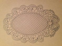 Bobbin Lace, Decorative Plates, Bobbin Lacemaking, Needlepoint, Table Toppers, Trapper Keeper, Centerpieces, Dots, Snow