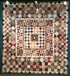 British quilt from 1808, What a Load a Scrap