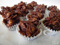 Křupavé čokoládové hrudky -