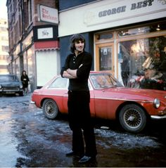 Manchester United legend and Ballon d'Or winner George Best.