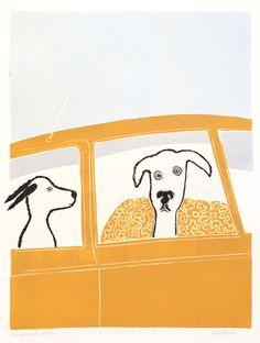 Søssa Magnus - Variasjon i bil II Graphic Design Art, Art Ideas, Art Gallery, Snoopy, Posters, Fine Art, Interior Design, Pictures, Fictional Characters