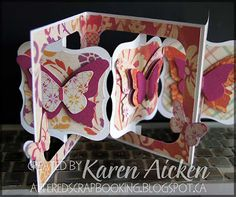 Altered Scrapbooking: Birthday Accordian Flip Card