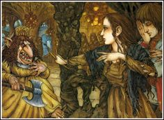 çizgili masallar: East of the Sun West of the Moon by Mercer Mayer Mercer Mayer, East Of The Sun, Snow Maiden, Mother Art, Love Monster, Blue Fairy, Gnome, Children's Book Illustration, Book Illustrations