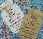 Save The Date / Evening Card Wedding Invitation with Envelop