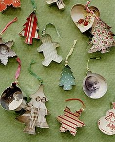 DIY Cookie Cutter Christmas Decoration #photo