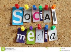 Photo about Social media from cutout newspaper headlines pinned to a cork bulletin board. Image of media, connection, cork - 29237408 Social Marketing, Budget Marketing, Mobile Marketing, Marketing Tools, Internet Marketing, Online Marketing, Viral Marketing, Marketing Tactics, Marketing Automation