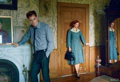 The Other Man, photography by Annie Leibovitz for Vogue America October Issue 2013 - HUF Magazine