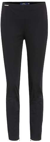 Shop High-waisted trousers presented at one of the world's leading online stores for luxury fashion. Ralph Lauren Womens Clothing, Rag And Bone, Slim Legs, Leather Leggings, Helmut Lang, Trousers, Pants, Skinny Legs, Alternative Fashion