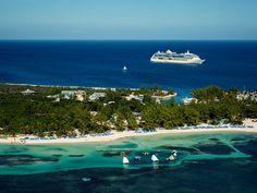 The most Caribbean fun per square mile. #cococay