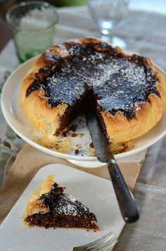 Chocolat et noix de coco gâteau