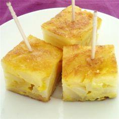 Pinchos de tortilla de patatas  Andalucía infinita