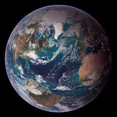 Earth, Globe, World, Western Hemisphere, Space, Sphere