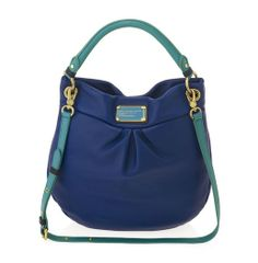 Marc by Marc Jacobs Classic Q Colorblocked Hillier Hobo in Bright Royal