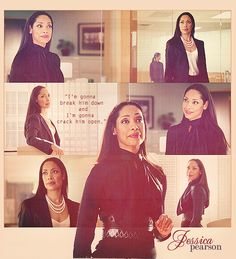 Jessica Pearson - the most stylish lawyer on TV