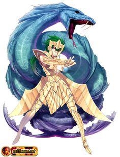 Saint Seiya - Marina Kraken Isaac