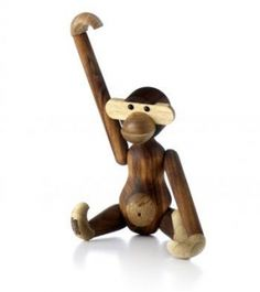 Monkey wood object by Kay Bojesen - Kay Bojesen