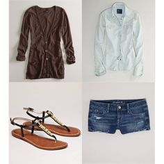 American Eagle Outfit, created by brittanyjannise on Polyvore