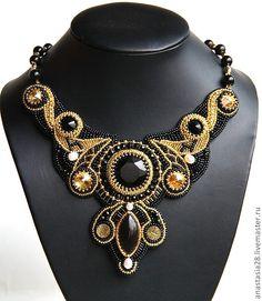 """Collar de perlas artesanales.  Collar hecho a mano """"al estilo de"""" barroco """"opción 2 mano - Feria Masters.."""