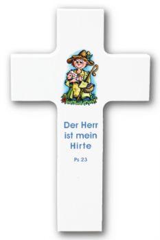 #Holzkreuz - Der Herr ist mein #Hirte für #Kinder  #LOGO #Psalm23