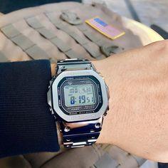 [Casio G-Shock A classic reimagined in full metal via /r/Watches G Shock Watches Mens, Casio G Shock, Sport Watches, Watches For Men, Men's Watches, Indian Men Fashion, Mens Fashion, Gentleman Watch, Nerd Chic