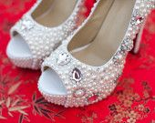 Ready to Ship Wedding Shoes Size 8