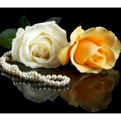 roses, pearls are symbolic of the Month of June