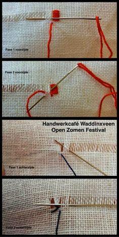 Handwerkcafé Waddinxveen: Uitgangspunten van het Open Zomen Festival