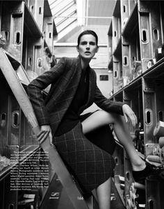 The Gentlewoman Editorial FW 2013-14 - Stella Tennant by Benjamin Alexander Huseby