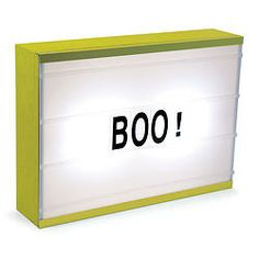 CINEMATIC LIGHT BOX - YELLOW