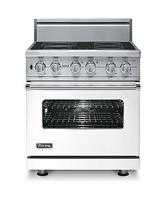 Custom Electric Induction Range - VISC - Viking Range Corporation - You don't have to choose between a fancy, blue range and induction cooking! Best of both worlds!