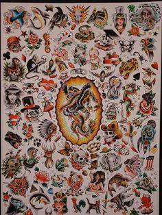 Flash - Richard Stell Tattoos