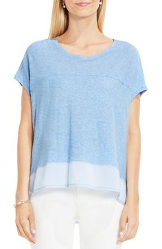 Love blue chambray summer tops
