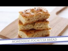 Focaccia Bread - Handle the Heat