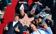 The Backstreet Boys celebrate their 20 year career with a Star on the Hollywood Walk of Fame.