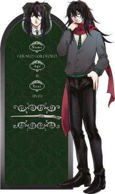 Illegibilus - Gerard Guildford by retrozero on DeviantArt Harry Potter Artwork, Harry Potter Drawings, Harry Potter Anime, Harry Potter Fan Art, Harry Potter Characters, Harry Potter Hogwarts, Hogwarts Mystery, Game Character Design, Anime People