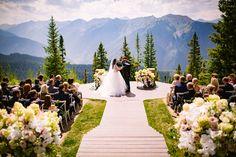 Casamento nas alturas: Aspen é opção para cerimônias matrimoniais com muito charme e lindas paisagens   Noivas & Noivos