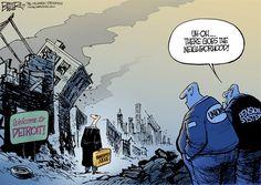 Cartoon: Detroit Bankruptcy - http://ontopofthenews.net/2013/07/25/odds-ends/cartoon-detroit-bankruptcy/