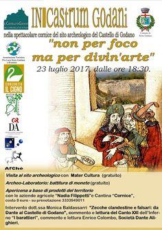 """Italia Medievale: """"Non per foco ma per divin'arte"""" al Castello di Godano"""