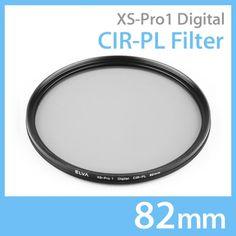 New Elva Camera Digital CIR-PL 82mm Filter Circular Polarizing Slim Filter #Elva