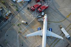 The incredible aerial photography of Jason Hawkes - British Airways at London City Airport