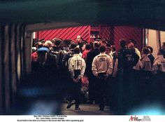 Manchester United Vs Chelsea 1997 - fracas in the tunnel at Old Trafford